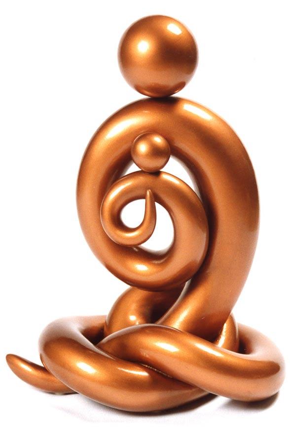 SC_Namaste :Joseph Chiang Sculpture