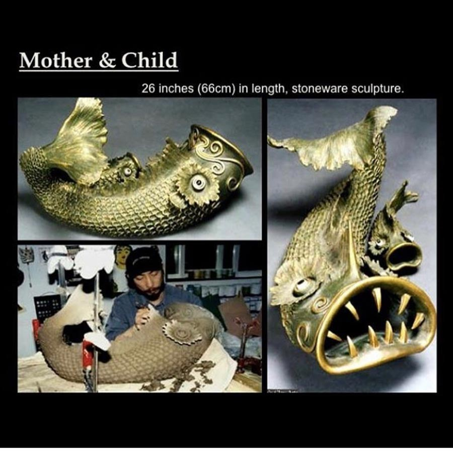 Joseph Chiang Art / SCo-532 Mother and Son