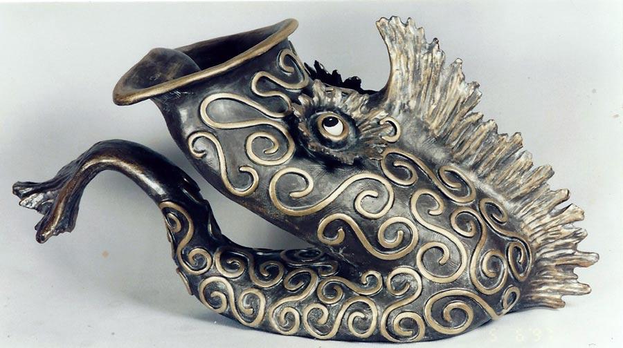 Joseph Chiang Art / SCo-506 The Saxophone Fish